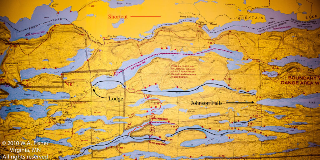 BWCA Routes, East Bearskin Route
