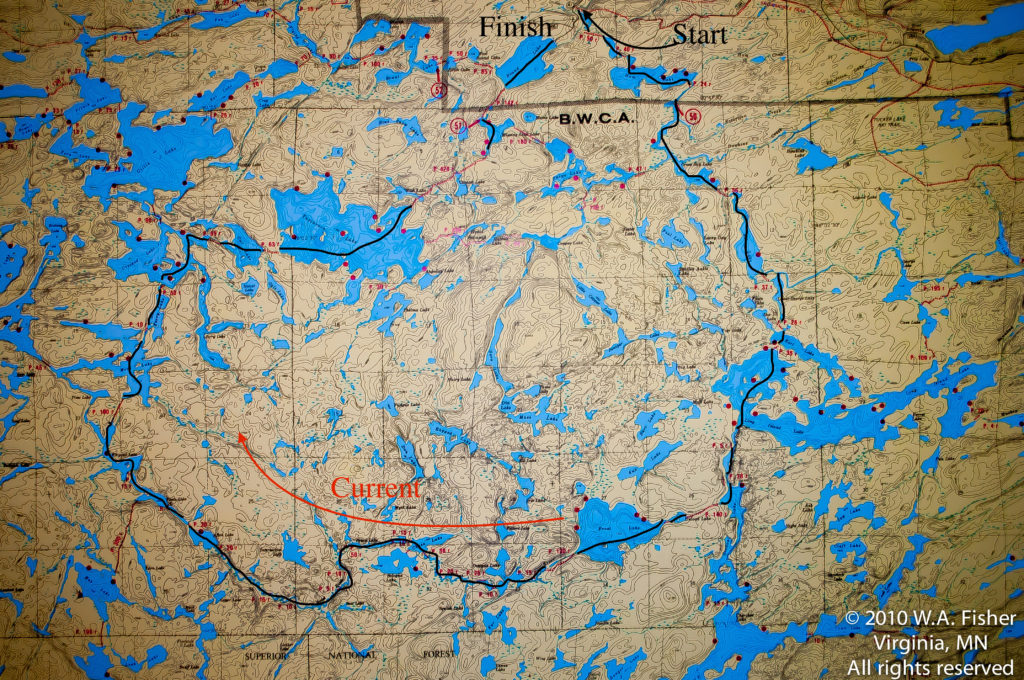 BWCA Routes, Frost River Route