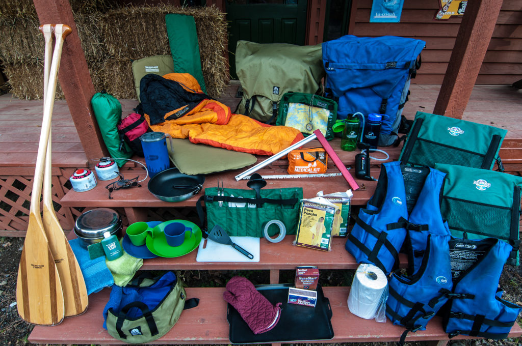 gear for a Complete BWCA Outfitting trip